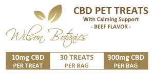 CBD Pet Treats Front Label
